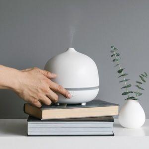 Saje aroma om deluxe white ceramic diffuser